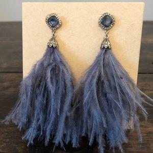 Chloe + Isabel Celeste Feather Earrings
